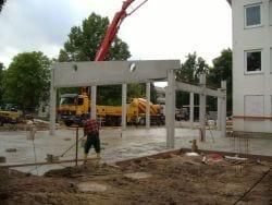 2009 Neubau der Mensa 38