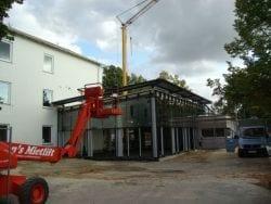 2009 Neubau der Mensa 47