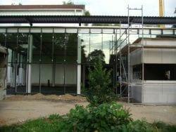 2009 Neubau der Mensa 48