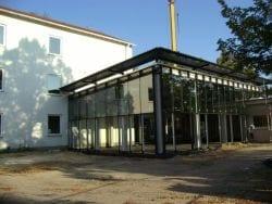2009 Neubau der Mensa 51