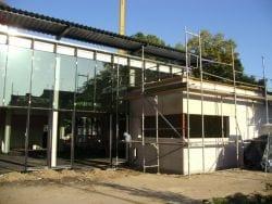 2009 Neubau der Mensa 53