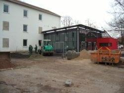 2009 Neubau der Mensa 70