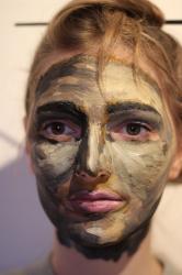 2018 | Kunst Q1 | Gesicht als Leinwand