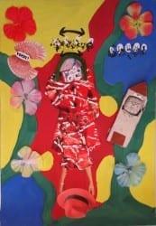 Ku J9 Arbeiten zu Anna Blume