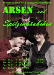 2011 Plakat Arsen und Spitzenhäubchen