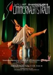 2006 Plakat Sommernachtstraum Stadttheater